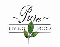Pure Living Food Logo
