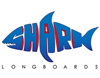 Shark Longboards Logo
