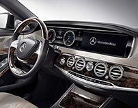 Mercedes-Benz UI/UX