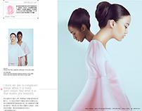 Milk magazine editorial and interview