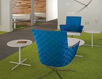 Furniture Renderings for NeoCon 2014