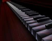 Cinema 4D: Piano