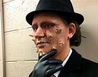 Horned Lizard Detective Makeup