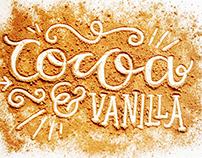Cocoa & Vanilla Lettering