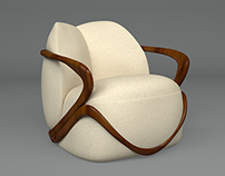 HUG – armchair from Giorgetti