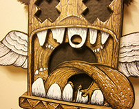 Cardboard illustrations A