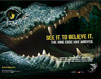 Dubai Aquarium Croc Ad