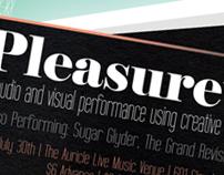 Pleasurewave Live (Poster Design)