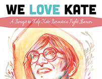 We Love Kate: A Benefit Poster