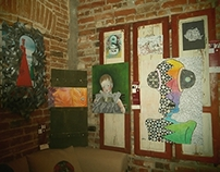 Contempora7 exhibition @ Imbold Gallery-Bucharest, June