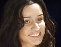 Digital Painting Shraddha Kapoor