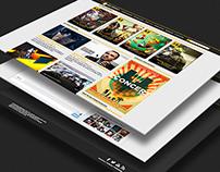Website Design - ArkadianVG