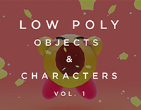 Low Poly - Objects and Characters Vol. 1