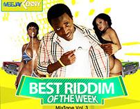 Veejay Kenny - Best Riddim of The Week Mixtape Vol3