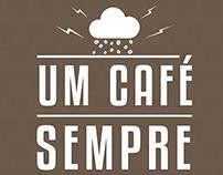 Cartaz - Um café sempre cai bem