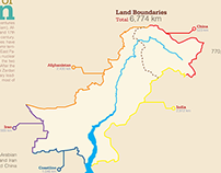 Geography of Pakistan | Infograph