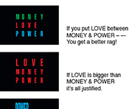 LOVE, MONEY, POWER