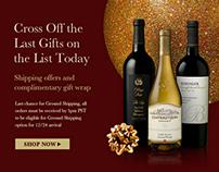 Cellar360 Holiday Web Promotion