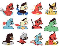 Surprised Heroes Series