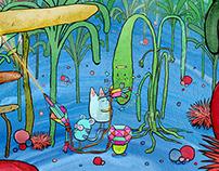 Dallas Clayton Pitch, 2D Animation Style Frames