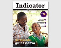 Publication: Indicator magazine, monthly staff magazine