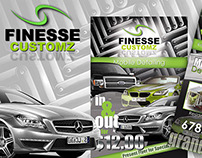 Finesse Customz Logo & Print Media