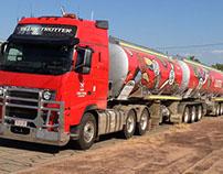 Truck Decals for Caltex