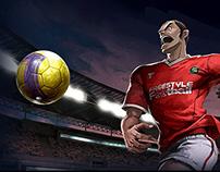Futebol Mania game site teaser