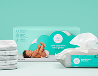 Cloud Island Diapers for Target