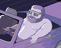 Illustrating the legend of Action Bronson — BA
