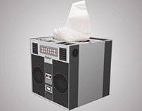 Kleenex BoomBox Tissue Boxes