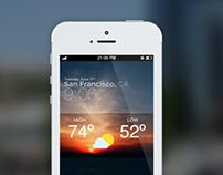iOS8 Weather App