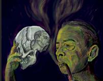 Ilustración I Congreso Internacional Witold Gombrowicz