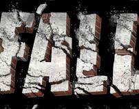 3D Text : brick and mortar