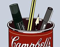 My apologies to Warhol