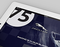 Jaguar South Africa - Tablet Screens