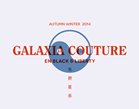 Flyer / GALAXIA COUTURE Pop up store