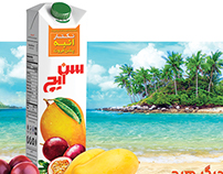 Sunich Mango Passion Fruit Compaign