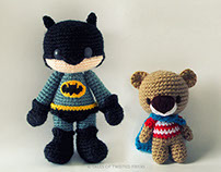 Amigurumi Superheroes