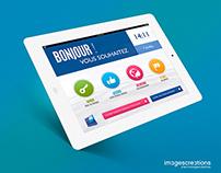 Borne iPad Service Banque Populaire Atlantique