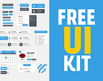 Free Clean UI Kit