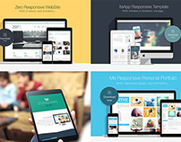 4 Responsive HTML5 Templates