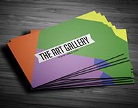 Art Gallery Busines Card