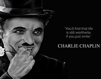 Chaplin Digital Sketch