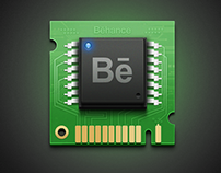 Behance Chip icon