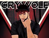 Crywolf Gig Poster