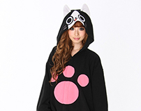 Monster Hunter Merarou Kigurumi onesies