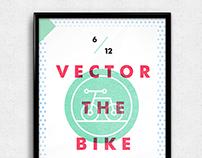 Vector The Bike Logo & Gig Poster