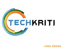 techkriti logo and letterhead