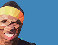 Ksiolajidebt Low Poly Illustration